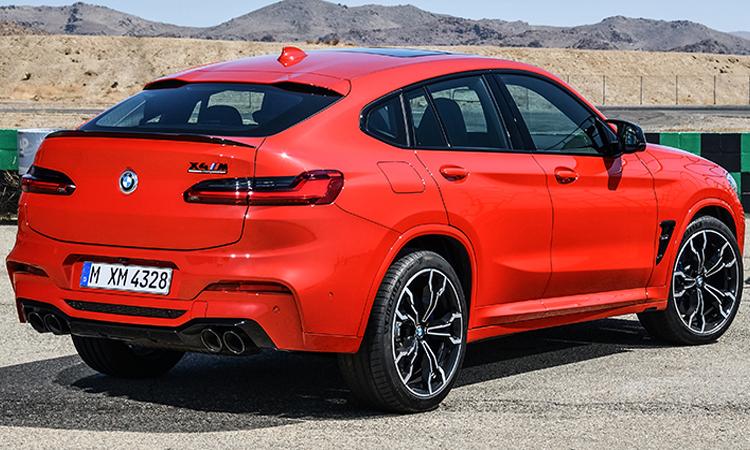 ดีไซน์หลัง BMW X4 M