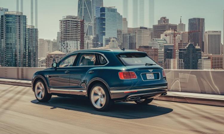 ดีไซน์ Bentley Bentayga Hybrid SUV