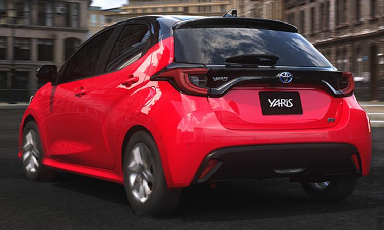 ดีไซน์ด้านหลัง All NEW Toyota Yaris (TNGA)