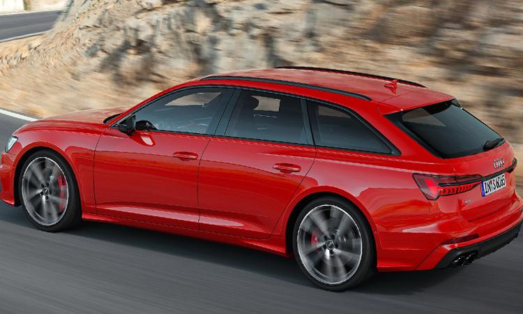 ดีไซน์ายนอก ราคาอย่างเป็นทางการ Audi A6 Avant 45 TFSI quattro S-Line Black Edition