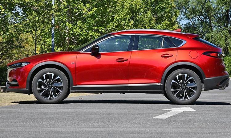 ดีไซน์ภายนอก Mazda CX-4 Minorchange