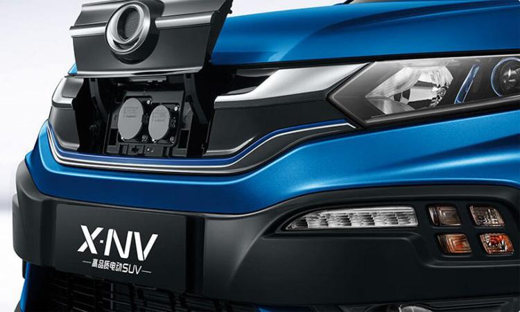 ดีไซนืด้านหน้า Honda X-NV Sport EV