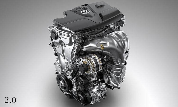 เครื่องยนต์ Toyota Camry 2.0 ลิตร D-4S (Update)