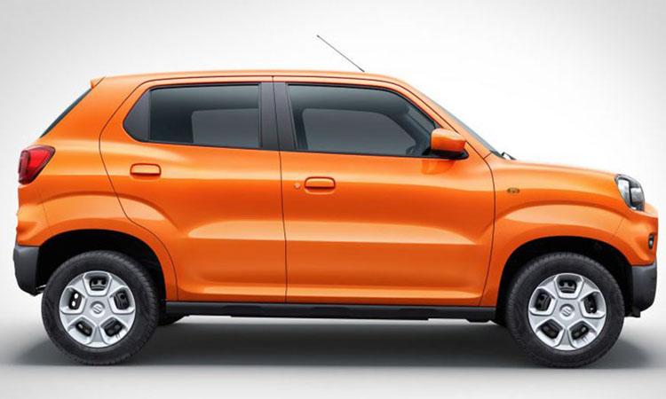 มิติตัวถัง Suzuki S-Presso