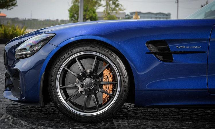 ดีไซน์ซุ้มล้อ Mercedes-AMG GT R