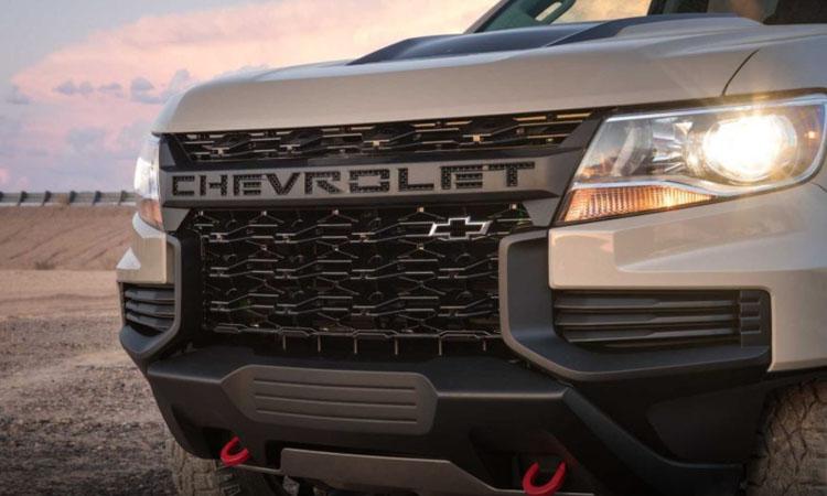 กระจังหน้า Chevrolet Colorado