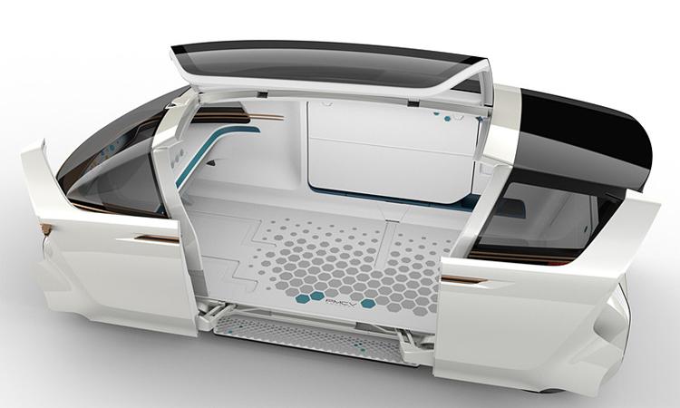Toyota PMCV Concept ประตู