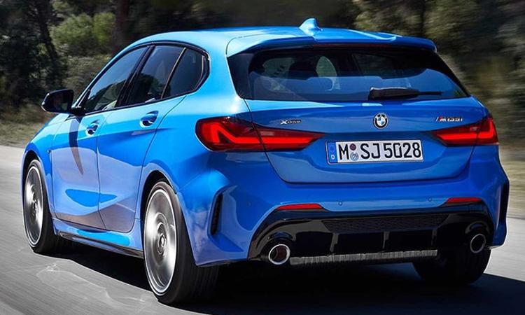 ดีไซน์ ด้านหลัง BMW 1-Series