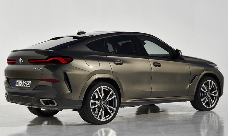 ดีไซน์ All-new BMW X6 2020