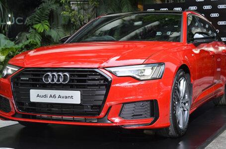 Audi A6 Avant 45 TFSI quattro S-Line Black Edition ราคา 4,299,000 บาท (นำเข้า CBU)