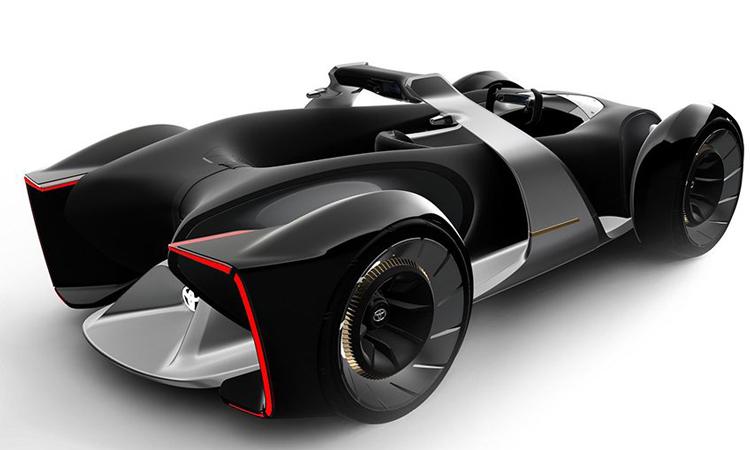 ดีไซน์ Toyota e-Racer Concept