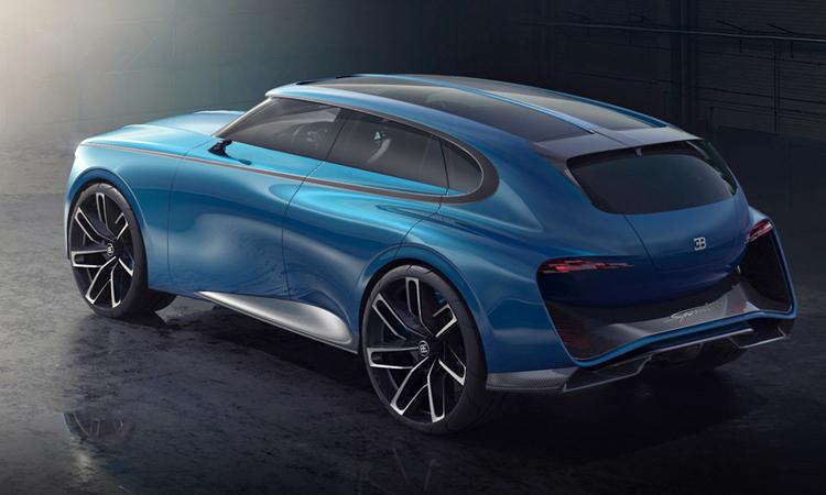 การออกแบบ Bugatti Super SUV