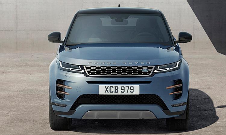 ดีไซน์ด้านหน้า All NEW Range Rover EVOQUE