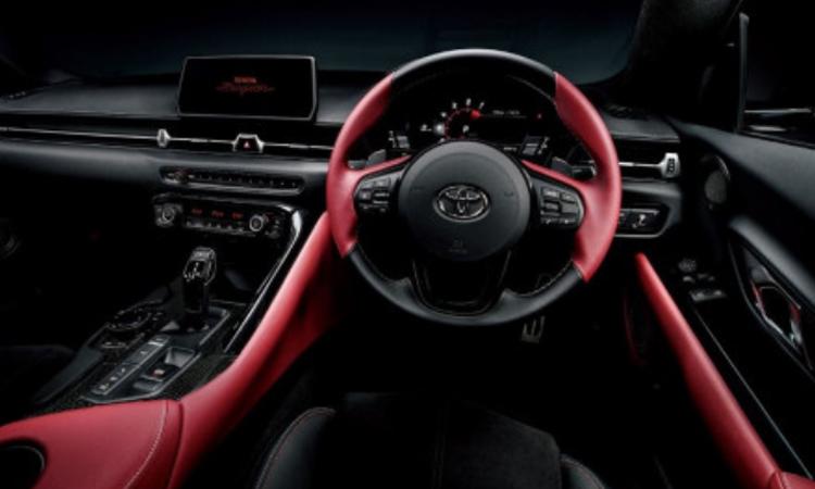 ดีไซน์ภายใน Toyota Supra GR