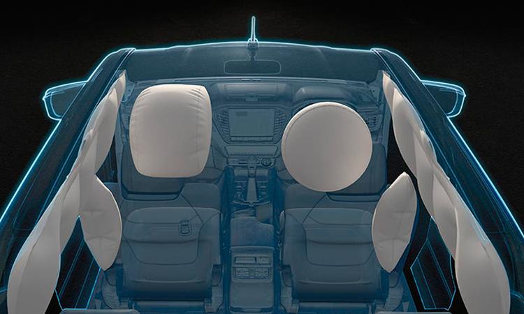 ถุงลมรอบคัน 6 ใบ Isuzu D-Max 2020 Cab4