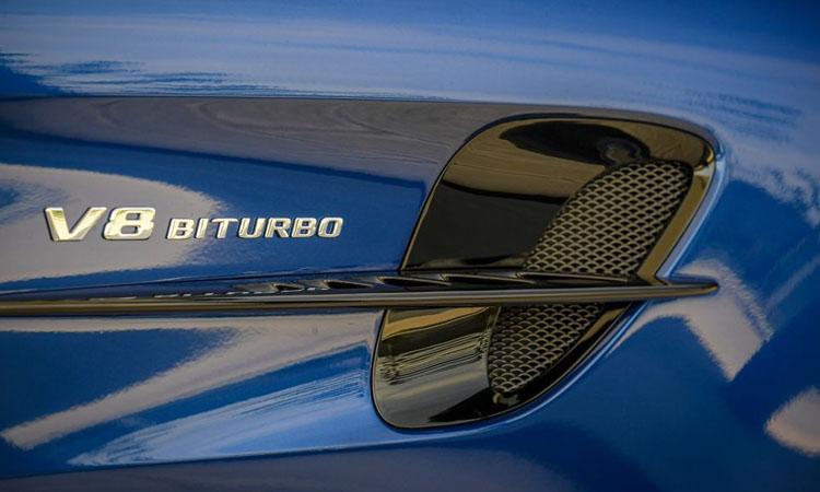 ดีไซน์ข้างรถ Mercedes-AMG GT R