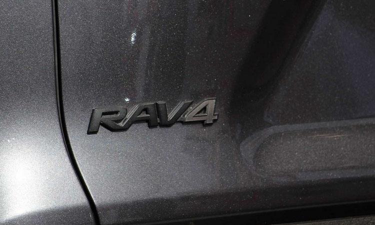 ตัวหนังสือ Toyota RAV4 TRD Off-Road 2020