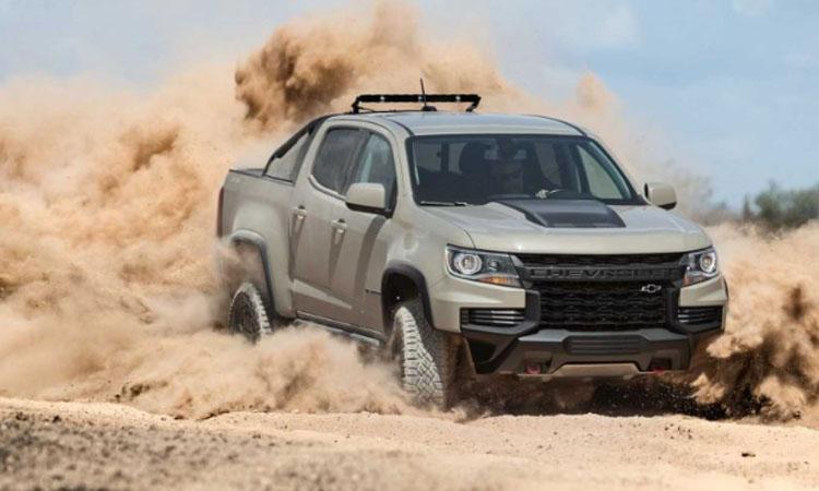 ดีไซน์ Chevrolet Colorado