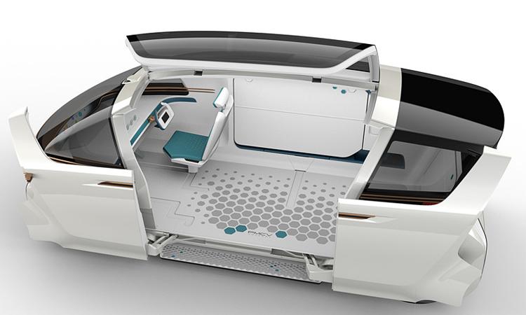 ภายใน Toyota PMCV Concept
