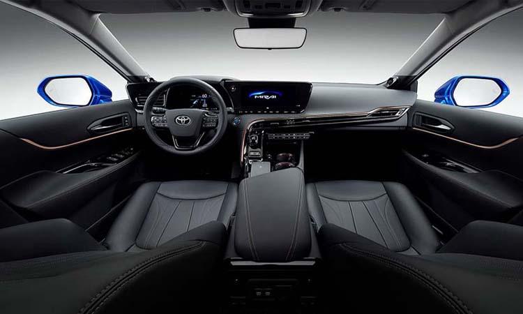 ภายใน Toyota Mirai Concept รถพลังงานไฮโดรเจน