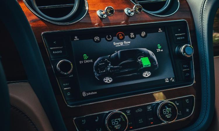 ภายใน Bentley Bentayga Hybrid SUV