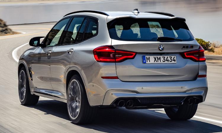 ดีไซน์ด้านหลัง BMW X3 M