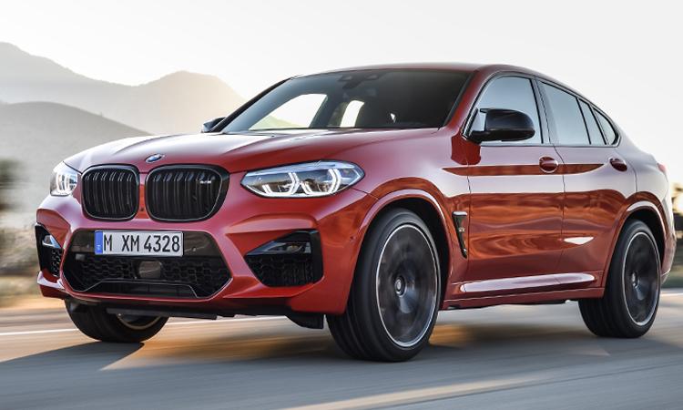 BMW X4 M ราคาอย่างเป็นทางการ (นำเข้า CBU)