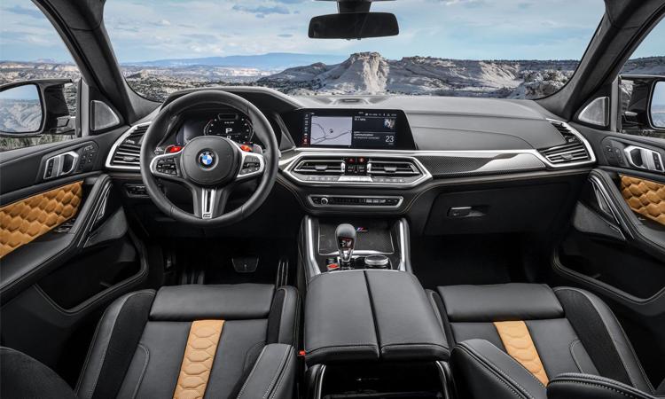 ภายใน BMW X5 M และ X6 M