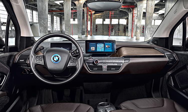 ภายใน BMW i3s