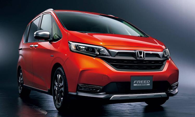 ดีไซน์กระจังหน้า Honda Freed 2020