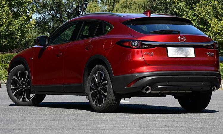 ท้ายรถ Mazda CX-4 Minorchange