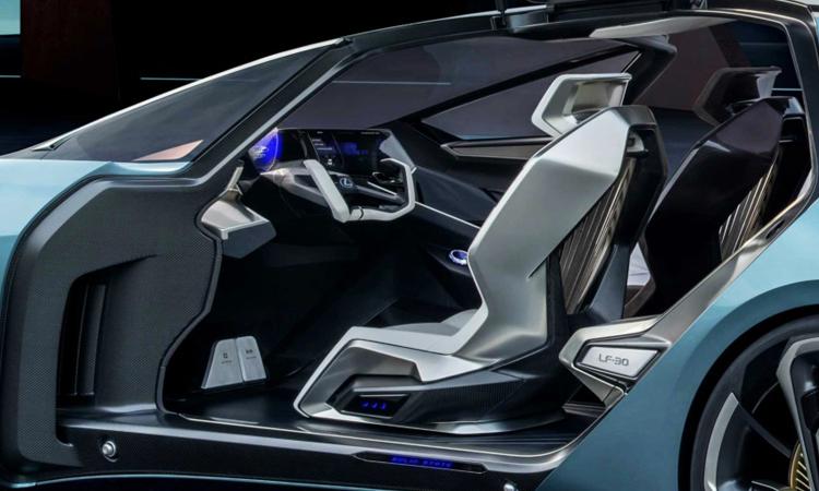 ภายใน Lexus LF-30 EV