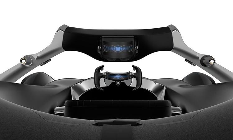 ภายใน Toyota e-Racer Concept