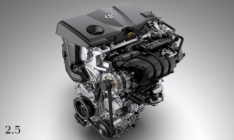 เครื่องยนต์ Toyota Camry 2.5 ลิตร Dynamic Force (NEW)