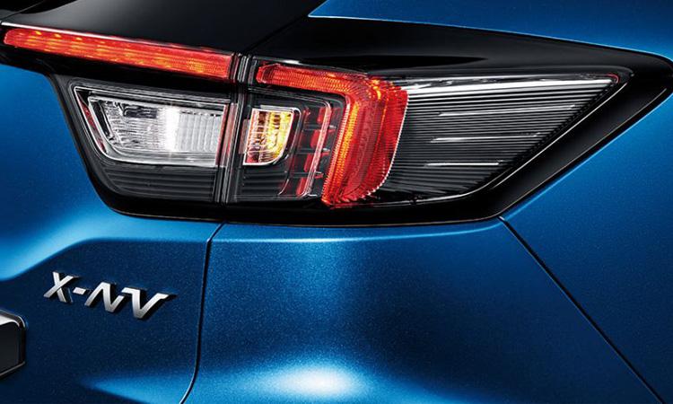 ดีไซน์ด้านหลัง Honda X-NV Sport EV