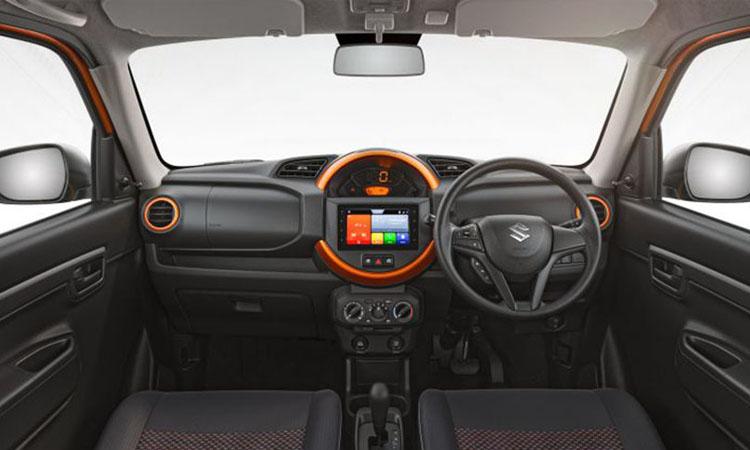 ดีไซน์ภายใน Suzuki S-Presso