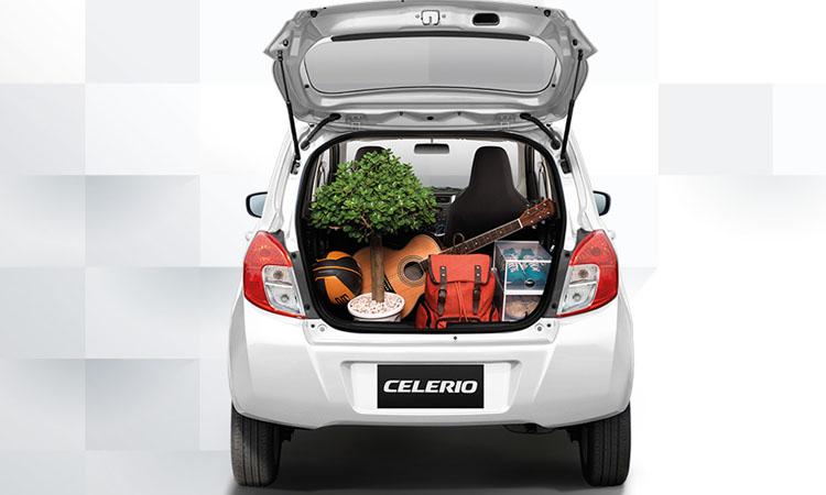 ดีไซน์ด้านหลัง Suzuki CELERIO