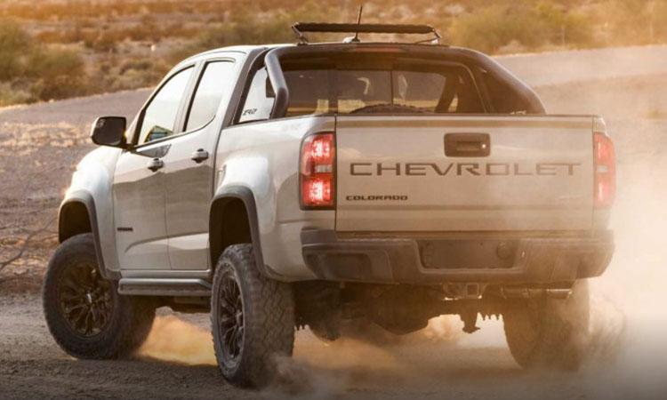 ดีไซน์ท้าย Chevrolet Colorado