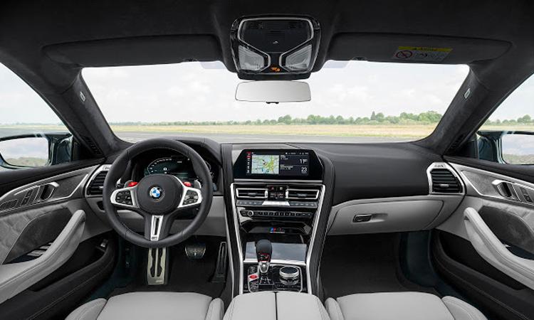 ภายใน BMW M8 Gran Coup