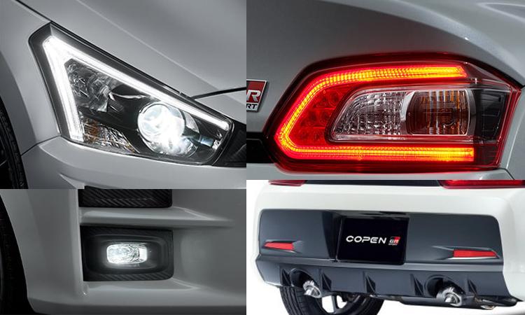 ดีไซน์ภายนอก Toyota Copen GR Sport