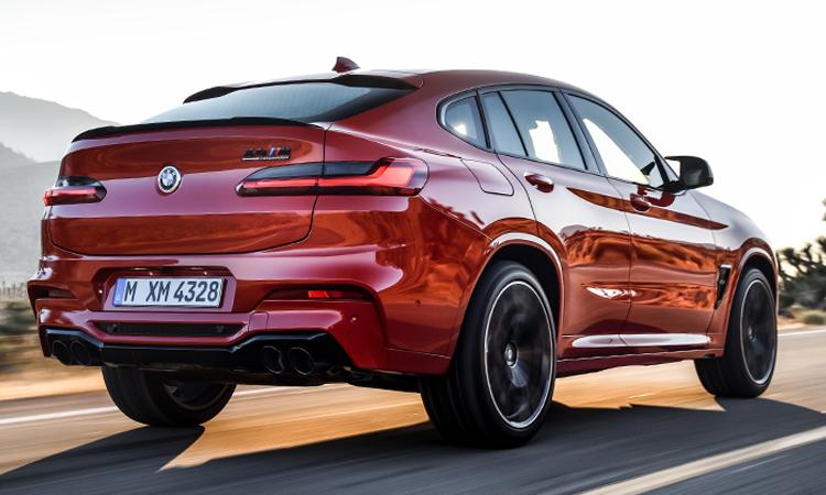 หลัง BMW X4 M ราคาอย่างเป็นทางการ (นำเข้า CBU)