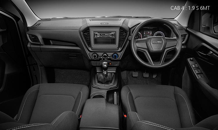 ภายใน Isuzu D-Max 2020 Cab4 1.9 Ddi S