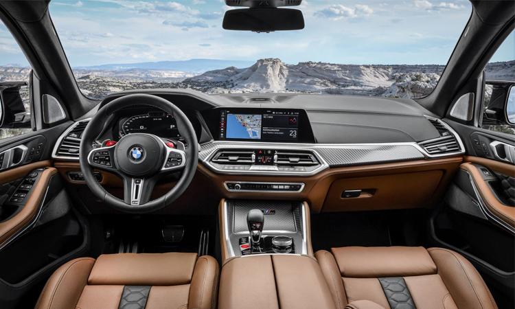 ดีไซน์ภายใน BMW X5 M และ X6 M