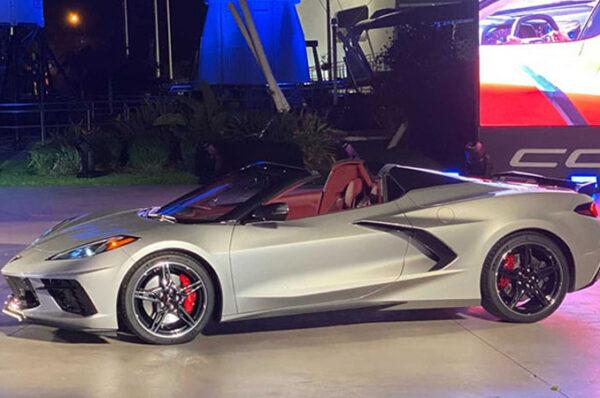 Chevrolet Corvette Stingray Convertible 2020 ซูเปอร์คาร์เปิดประทุนสุดหรู