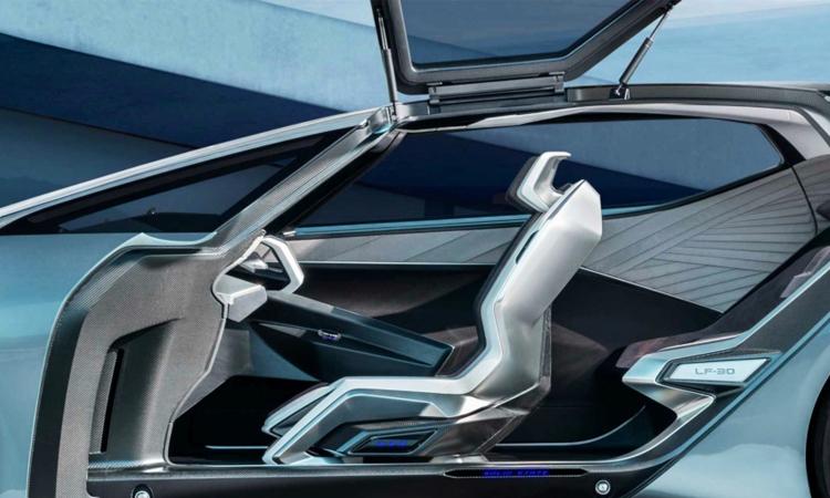 ดีไซน์เบาะ Lexus LF-30 EV