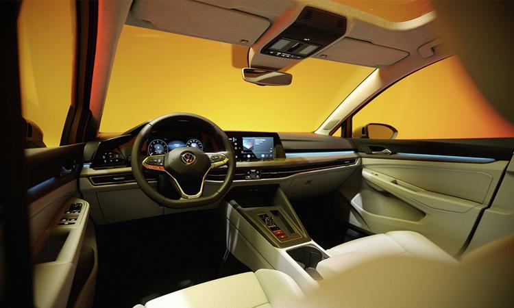 ภายใน Volkswagen Golf