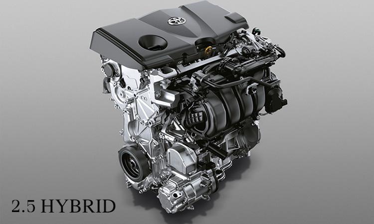 เครื่องยนต์ Toyota Camry 2.5 ลิตร Dynamic Force Hybrid THS II (Toyota Hybrid System II) (NEW)