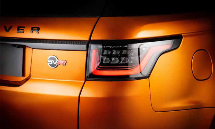 ฟท้าย Range Rover Sport SVR