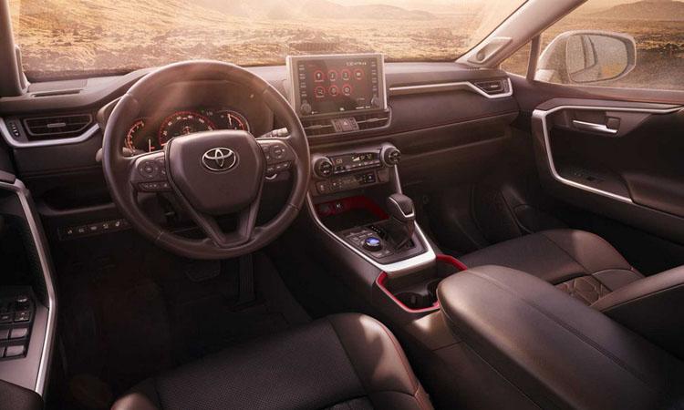 ดีไซน์ภายใน Toyota RAV4 TRDOff-Road