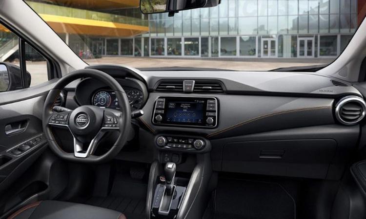 ดีไซน์ภายใน Nissan ALMERA 1.0 TURBO